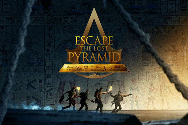Cover - Assassin's Creed - Escape the Lost Pyramid